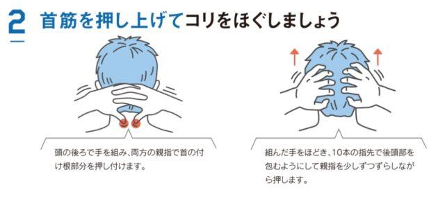 マッサージの仕方2
